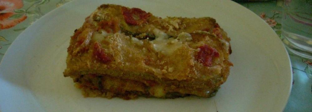 Ricetta – Parmigiana di zucchine