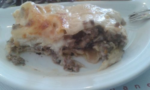 Ricetta – Lasagna al Radicchio